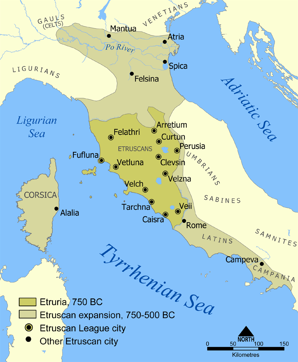 Meet the Etruscans. Linguistically, we know that they existed...and that's about it.